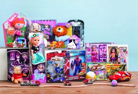 Brinquedos: alerta para 4 produtos