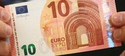 Nova nota de 10 euros não obriga a troca