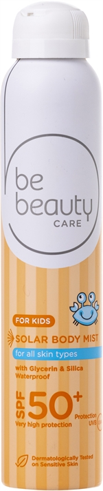 BE BEAUTY CARE SOLAR BODY MIST FOR KIDS 50+ | Protetores solares: o teste